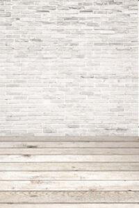 Weiße Ziegelmauer Mathias Lenz